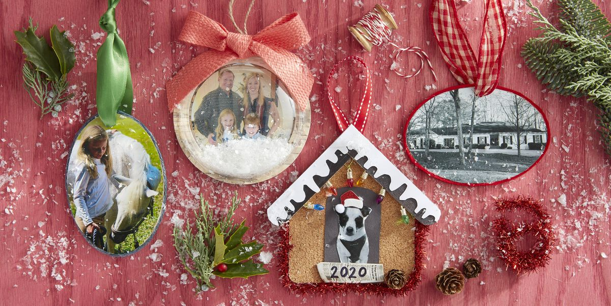 24 DIY Photo Ornaments That'll Make Your Christmas Tree Even More Meaningful