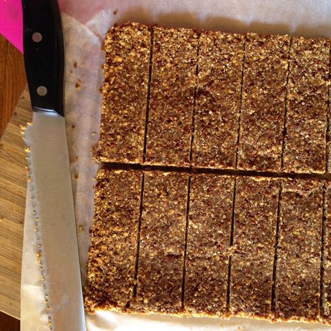Try these no-bake protein bars.