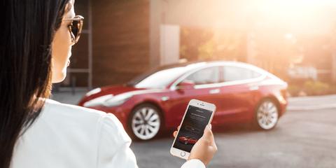 Tesla Phone Key App