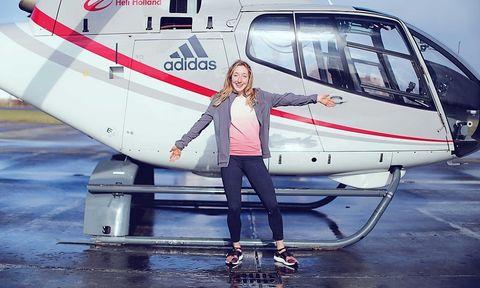 Adidas, UltraBoost X, helikopter, Girlslove2run