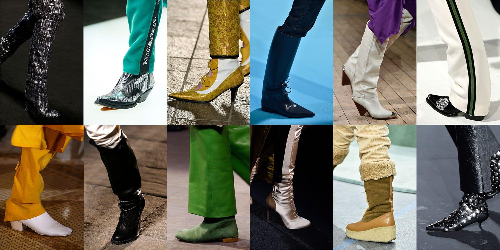 Fall winter schoenen trends 2018/2019