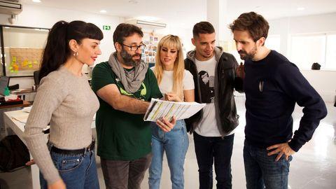 """Miren Ibarguren, Carlos Theron, Natalia de Molina,Carlos Librado y Julián López ruedan """"Operación Camarón"""""""