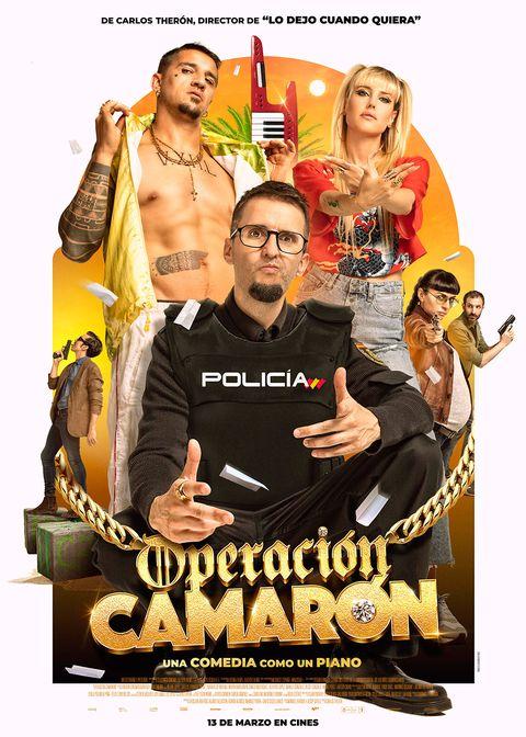 """Cartel de """"Operación Camarón"""""""