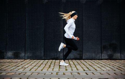 hardlopen, afvallen, niet doen