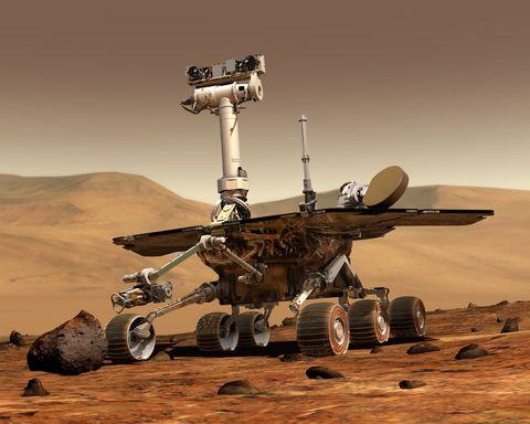 Landscape, Desert, Space, Vehicle, Aeolian landform,