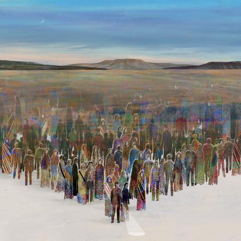 Ecoregion, Steppe, Landscape, Painting, Tundra, Plain, Plant, Art, Grassland, Tourism,