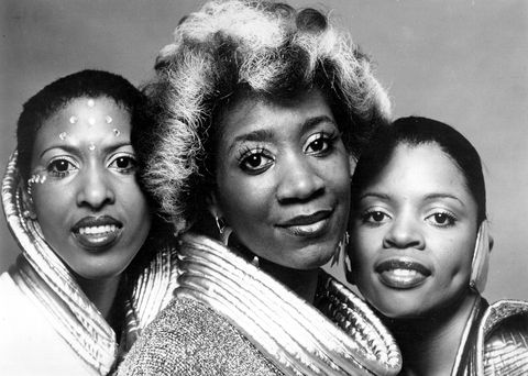 circa 1973 singer patti labelle poses for a portrait with her group labelle in circa 1973 also in the group were former bluebelles, sarah dash and nona hendryx photo by michael ochs archivesgetty images