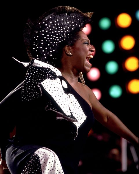 patti labelle performs at live aid at veteran's stadium in philadelphia, pennsylvania, july 13, 1985 photo by paul natkingetty images