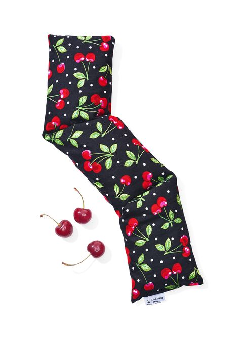 Pattern, Carmine, Boot, Costume accessory, Cherry, Fruit, Christmas stocking, Sock, Produce, Berry,