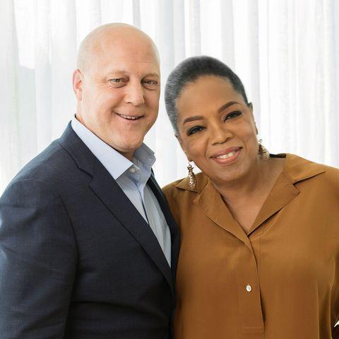 Oprah and Former New Orleans Mayor Mitch Landrieu