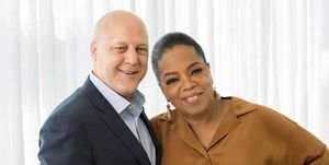 Oprah and Former New Orleans Mayor Mitch Landrieu
