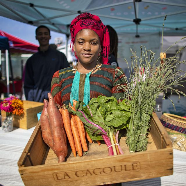 june 15, 2019   los angeles, california, united states olympia auset is the owner and founder of s‹prmarkt, allow cost organic grocery servicing low income communities in la on june 15, 2019 in los angeles, california on a recent saturday, she was selling her organic produce at leimert park villagegina ferazzilos angelestimes