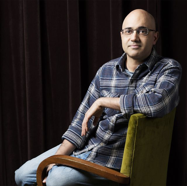 pulitzer prize winning playwright ayad akhtar is photographed for los angeles times on may 23, 2016 in los angeles, california published image credit must read jay l clendeninlos angeles timescontour by getty images photo by jay l clendenincontour by getty images
