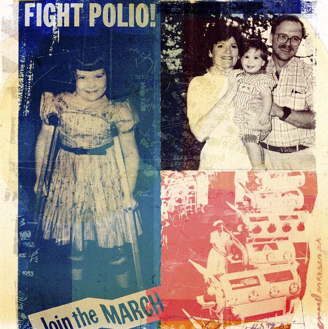 mary alice tully elias polio survivor collage