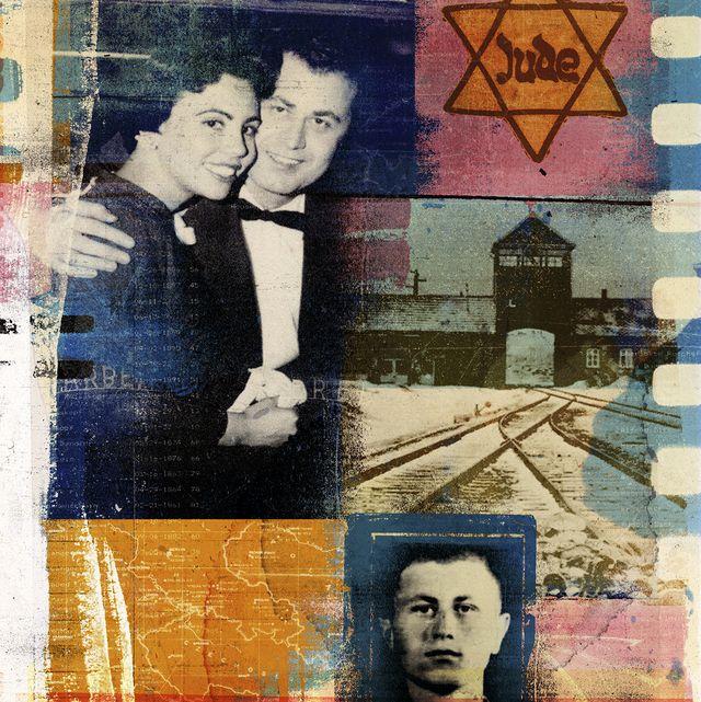 william harvey, holocaust survivor collage