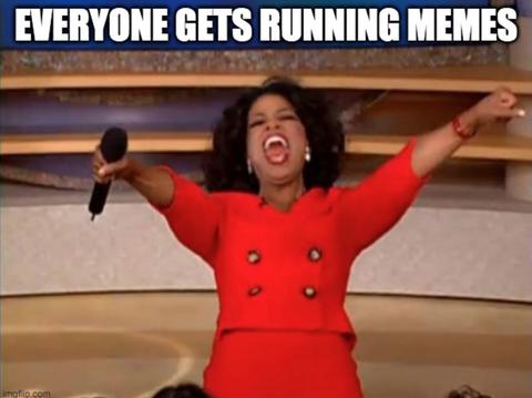 Running Memes - Oprah