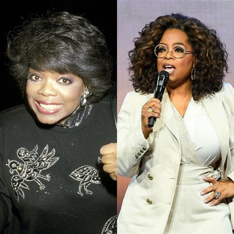 celebrities in de jaren negentig en nu, 2020