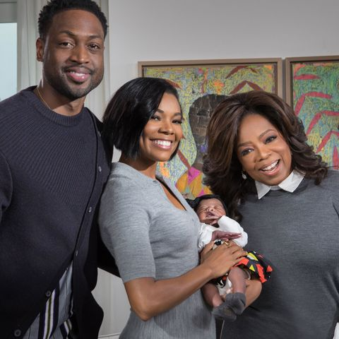 Oprah Interview Special With Gabrielle Union and Dwyane Wade