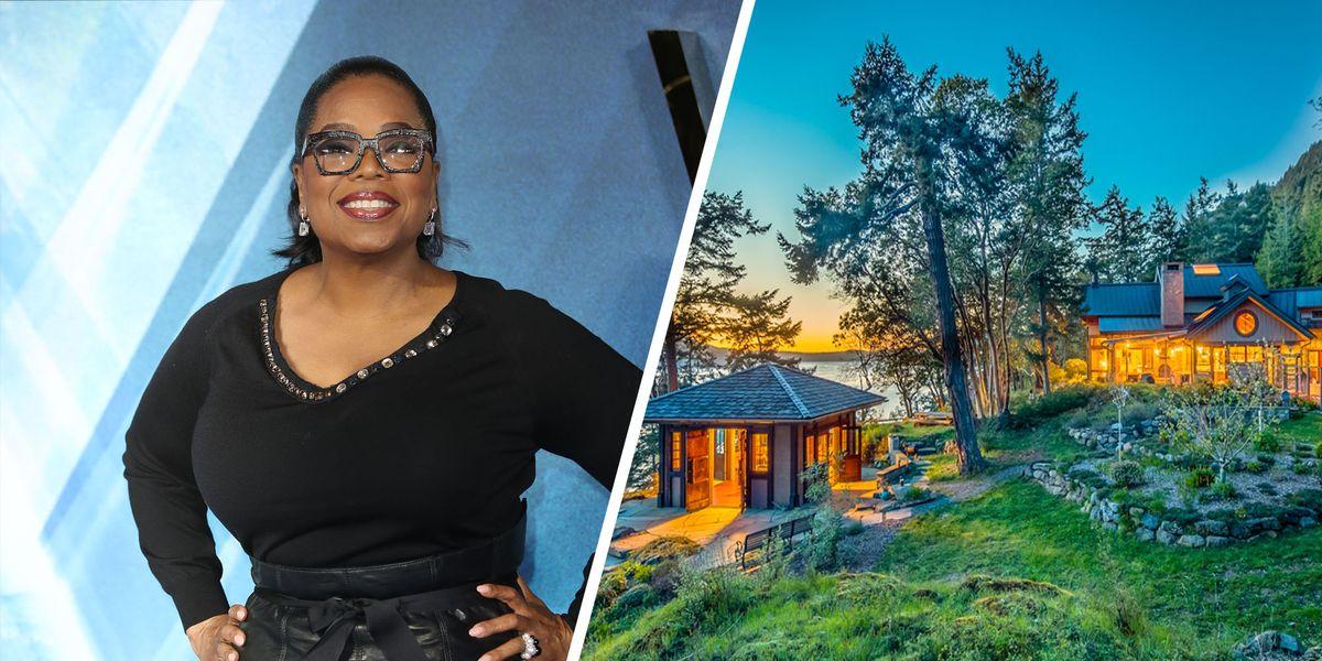 Tour Oprah Winfrey S 8 Million Orcas Island Estate