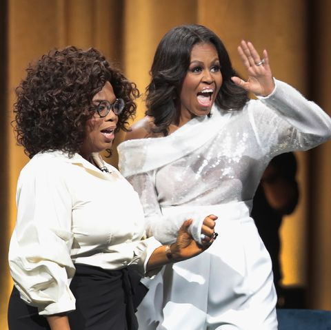 Former First Lady Michelle Obama Launches Arena Book Tour In Chicago At The United Center