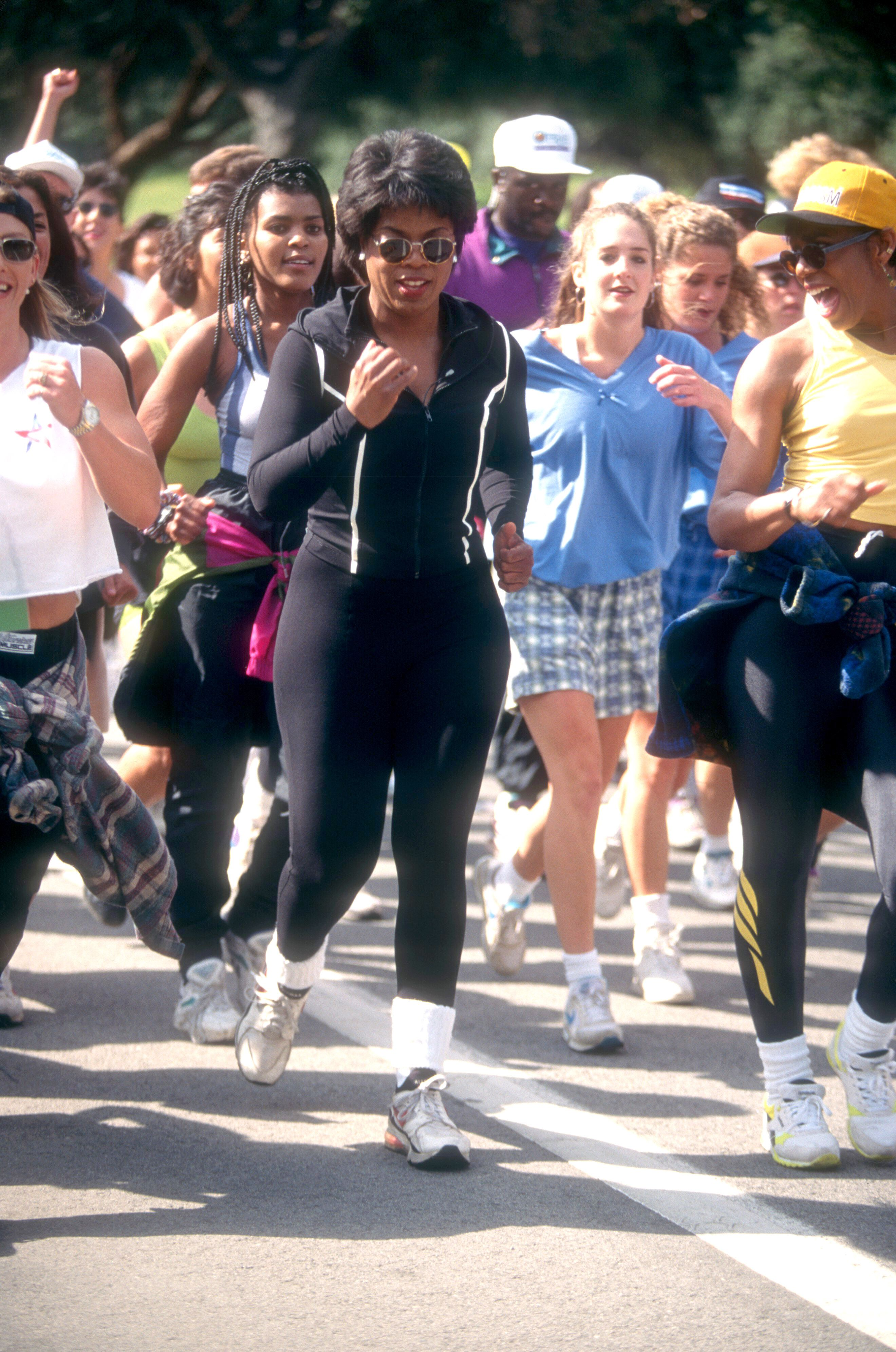 oprah winfrey running