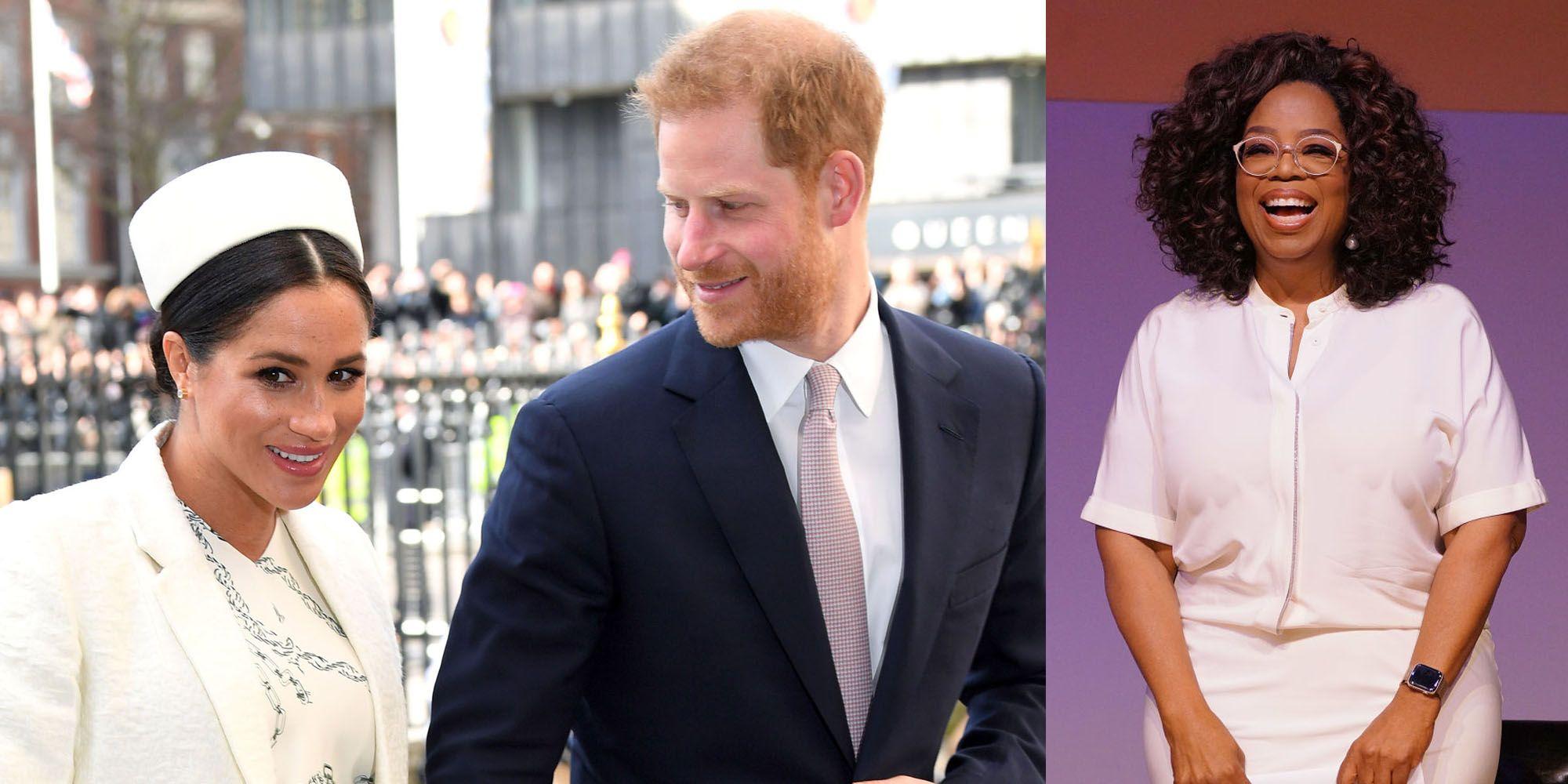 oprah winfrey meghan markle prins harry docuserie apple mentale gezondheid 2020