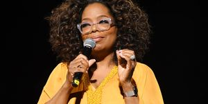Oprah Winfrey tijdens Global Citizen Festival: Mandela 100