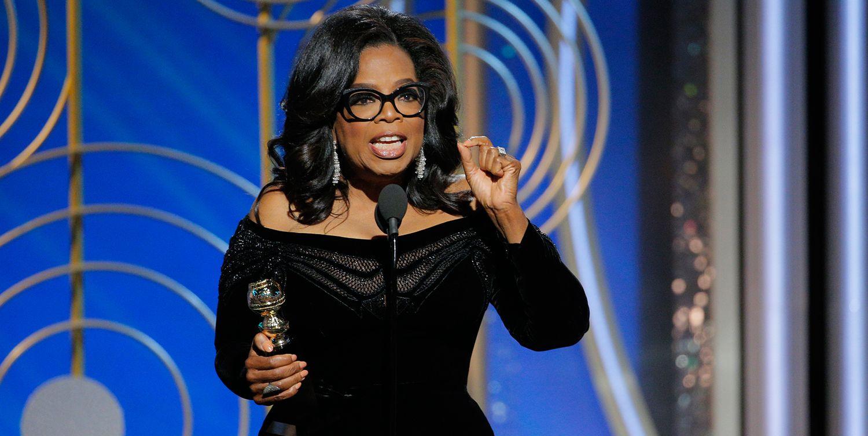 oprah winfrey globos de oro discurso