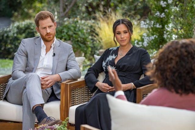 oprah reflexiona sobre la entrevista de meghan y harry