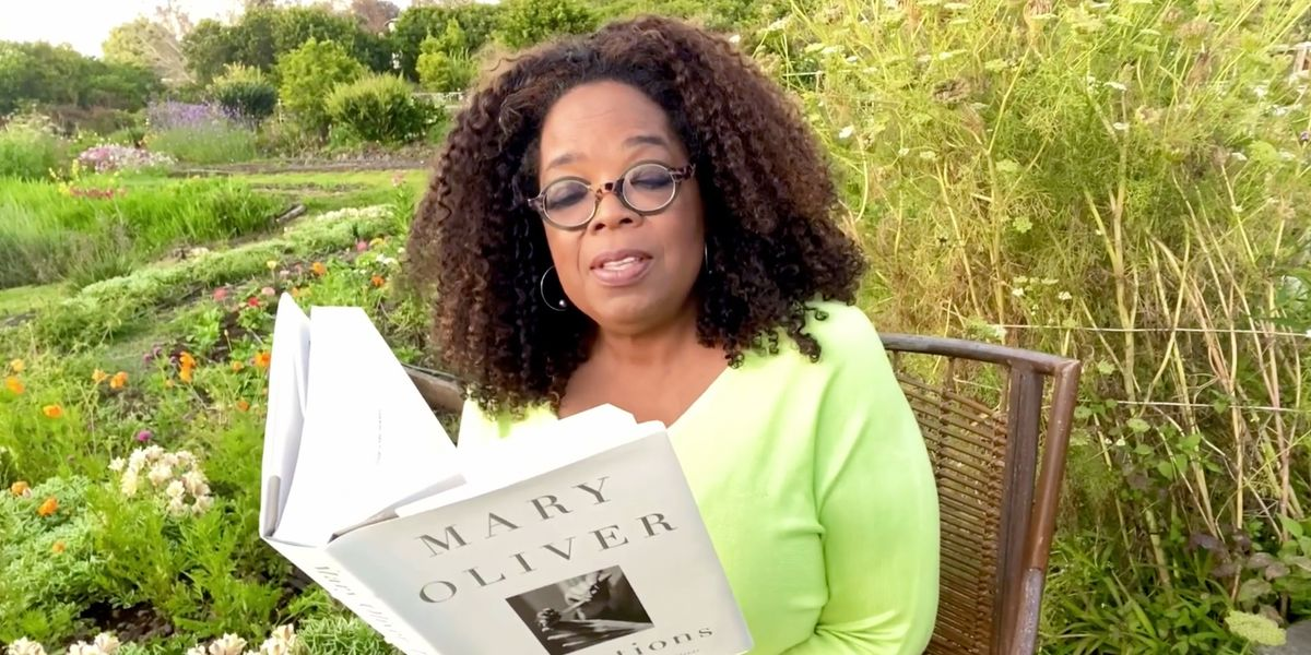 """Oprah Celebrates National Poetry Month: """"Poems Nourish Our Souls"""""""