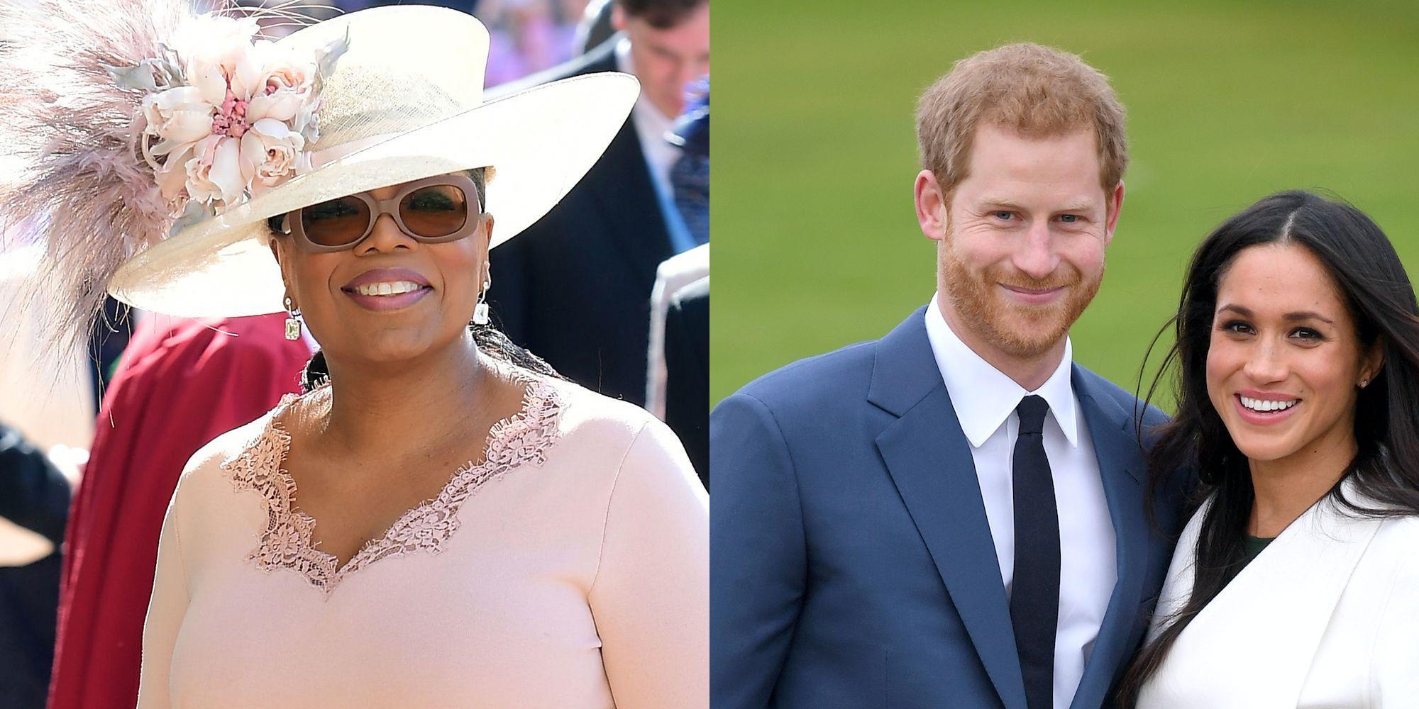 Oprah Announces Meghan Markle Prince Harry Interview on CBS
