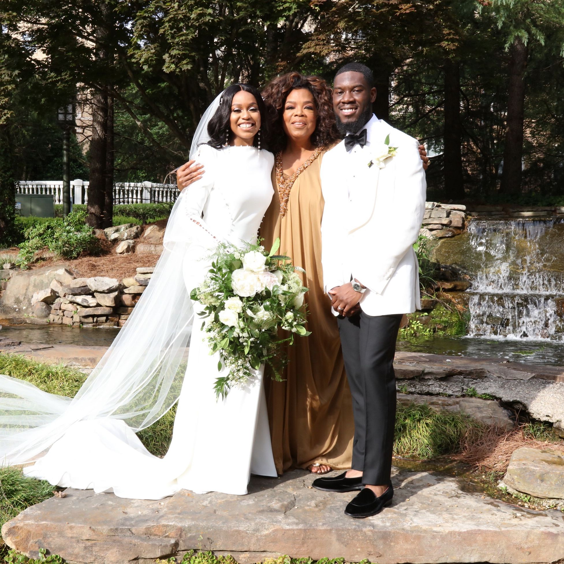 Oprah's Former Student Recalls the Emotional Moment Oprah Walked Her Down the Aisle