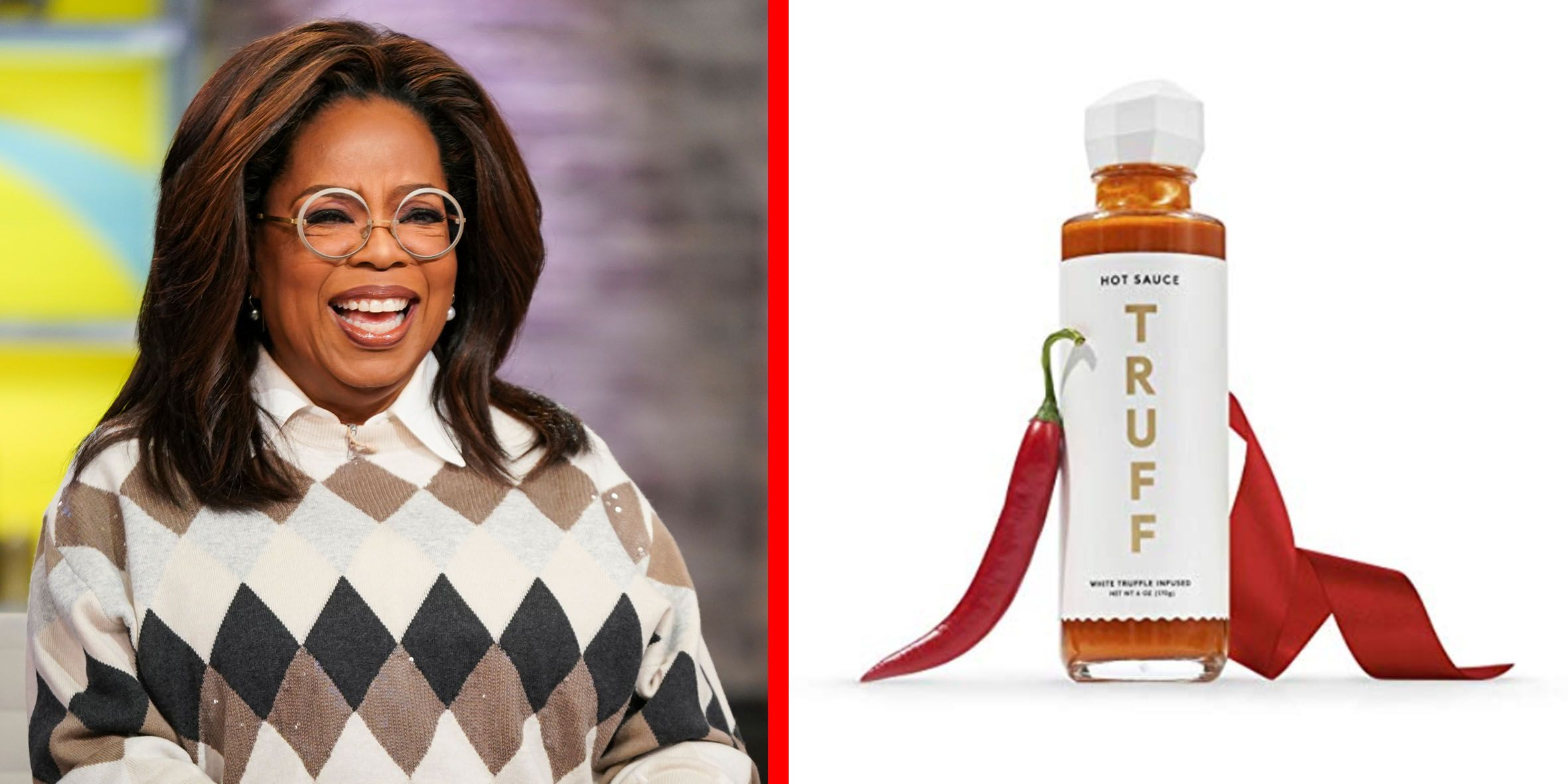 "Oprah Says There's No One She's Gifted This Truffle Hot Sauce to Who ""Hasn't Loved It"""