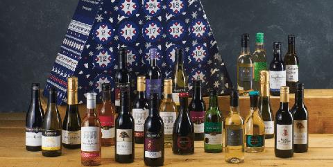aldi komt met een leuk cadeau voor de feestdagen een wijn adventskalender
