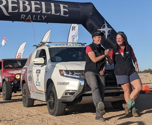rebelle rally participants