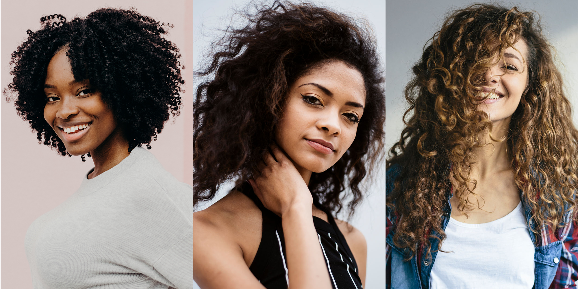 How to make my curly hair less frizzy