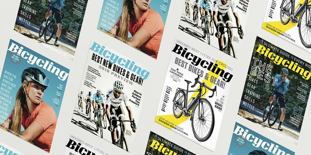 bicycling magazine covers