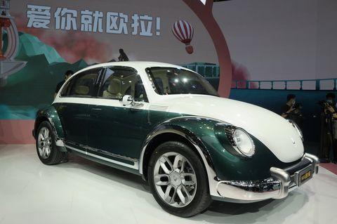 ora punk cat beetle eléctrico chino