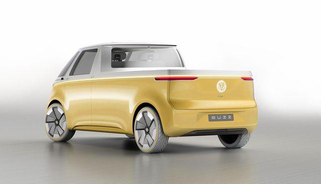 2024 vw id  buzz pickup rendering