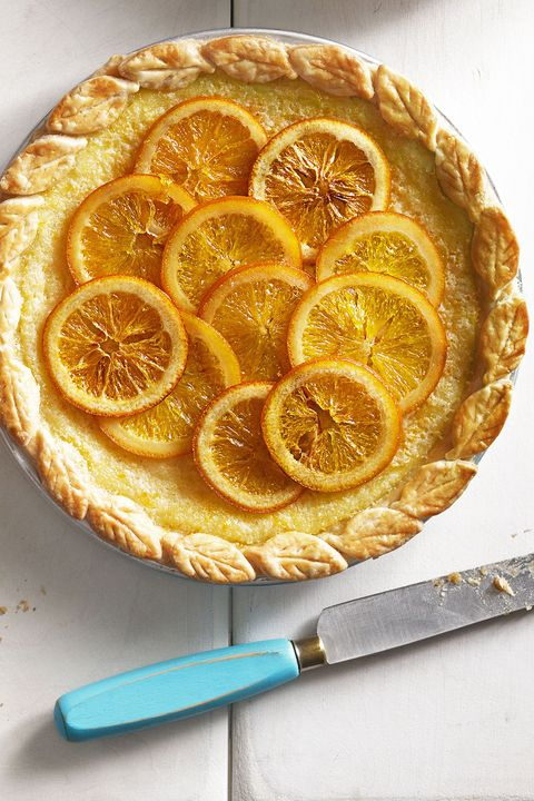 orange buttermilk chess pie