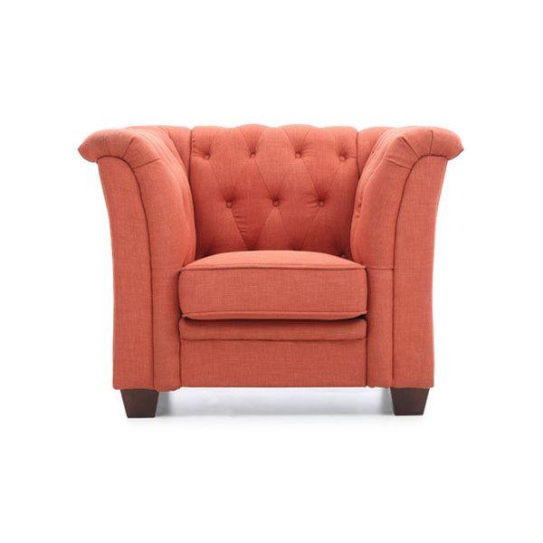 20 Best Orange Chair Ideas Orange Accent Chair