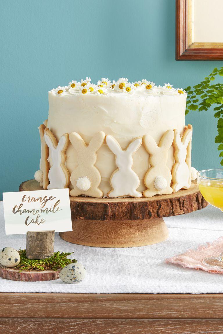 orange-chamomile cake
