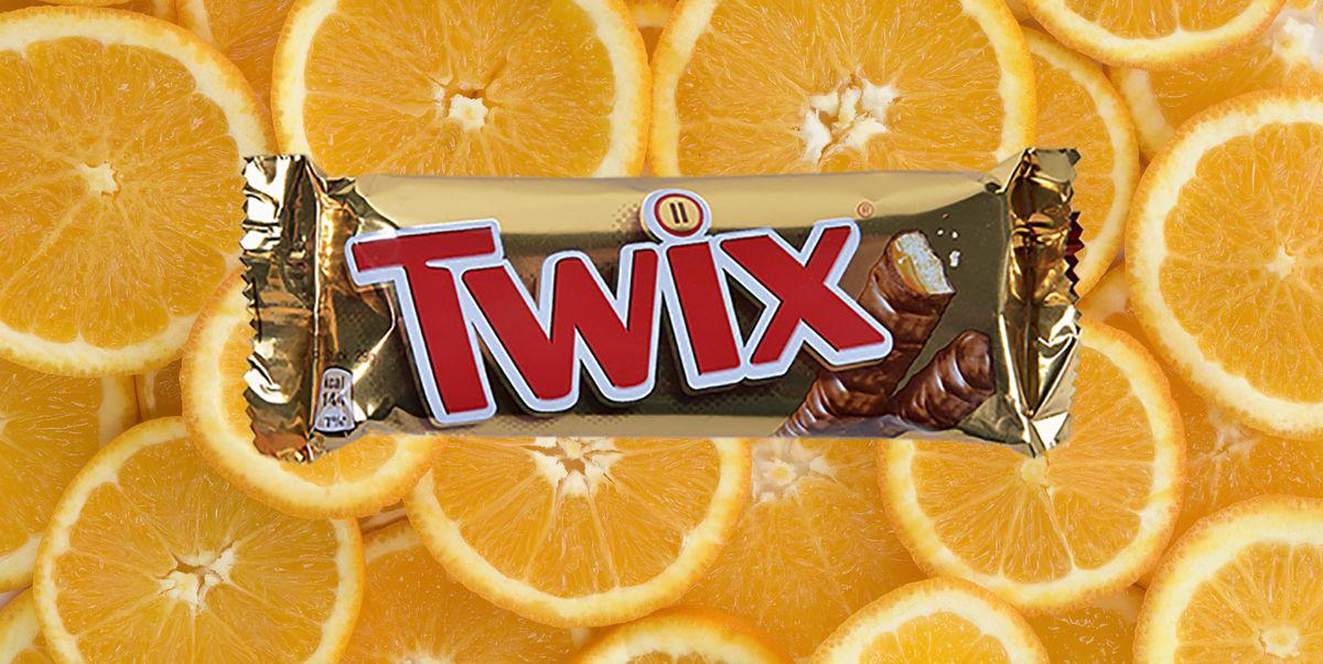 Twix Bars Now Come In Orange Chocolate Flavour