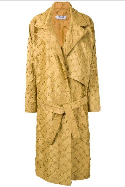 orange culture coat