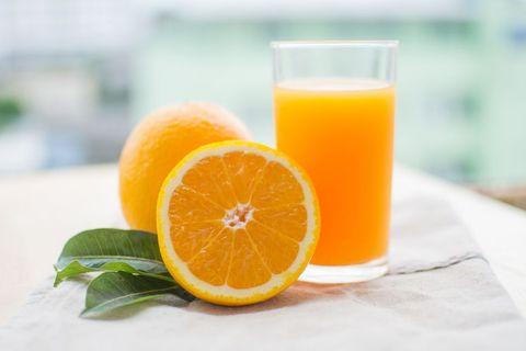 風邪のときには避けるべき飲み物 オレンジジュース