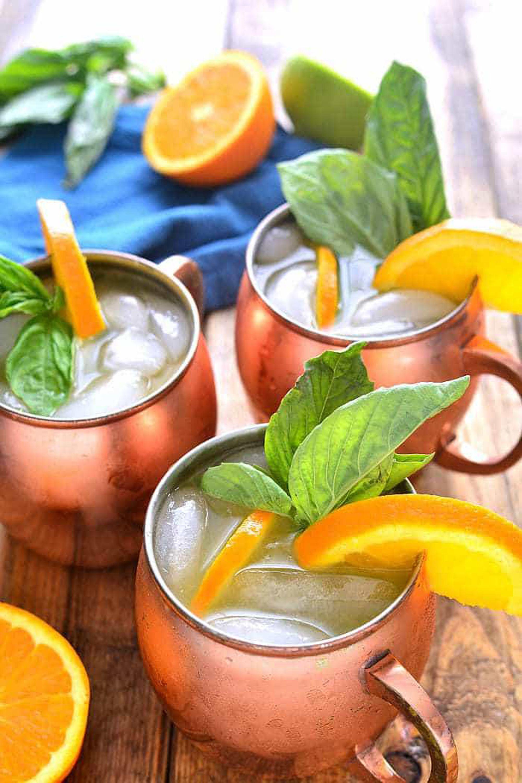 Orange Moscow Mule