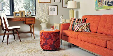32 Best Orange Sofas Orange Couches And Orange Leather Sofas