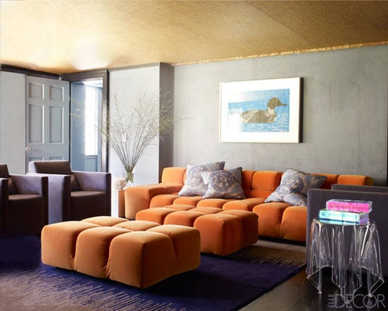 30+ Orange Sofas You'll Want to Keep Forever