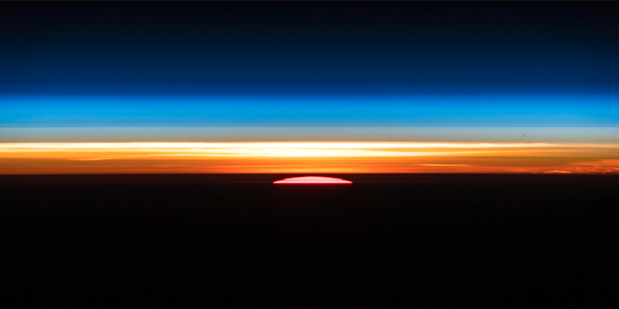 ISS astronaut's photos of orbital sunrise will leave you speechless