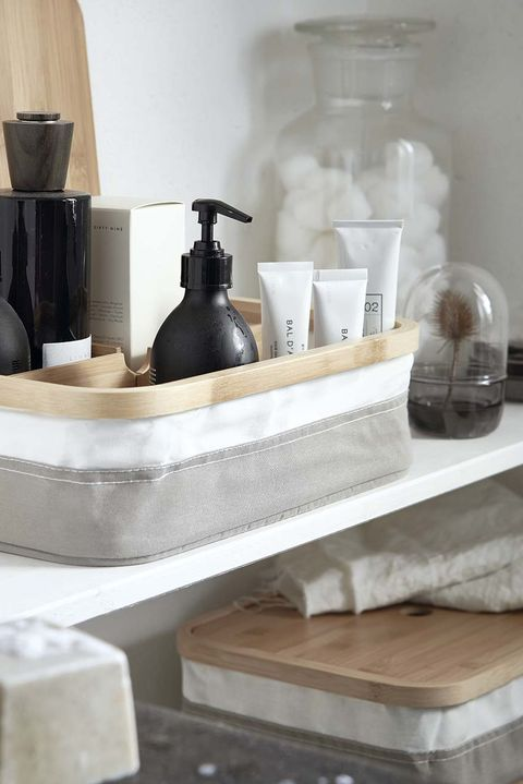 para el baño cajas rabbla, de ikea